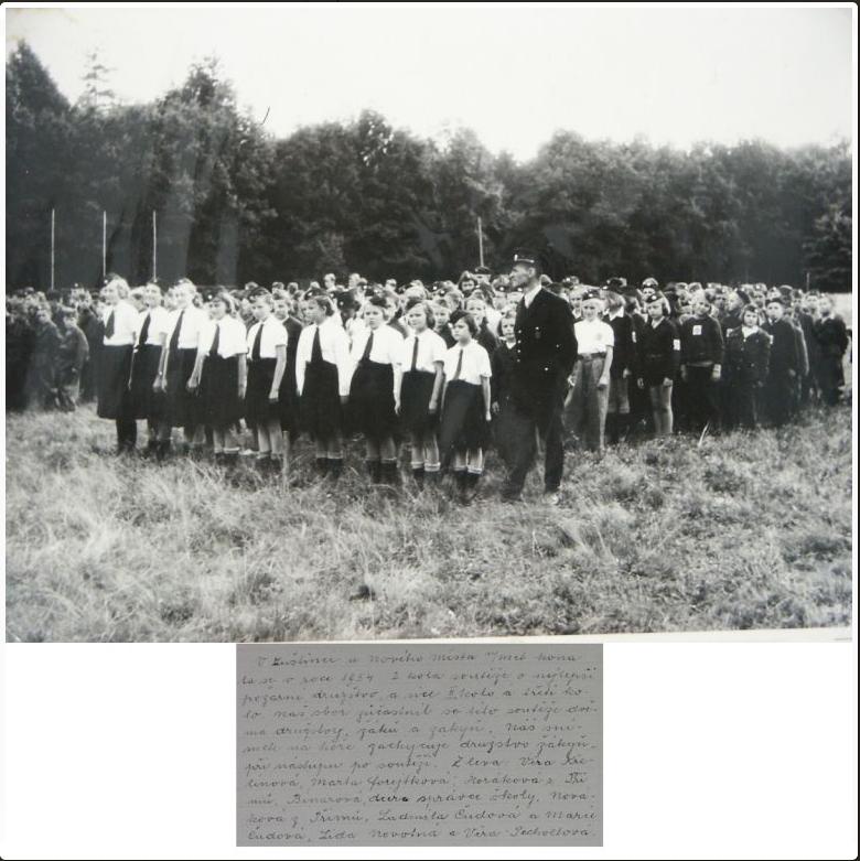 Historie SDH a JSDH - fotografie mladých hasiček