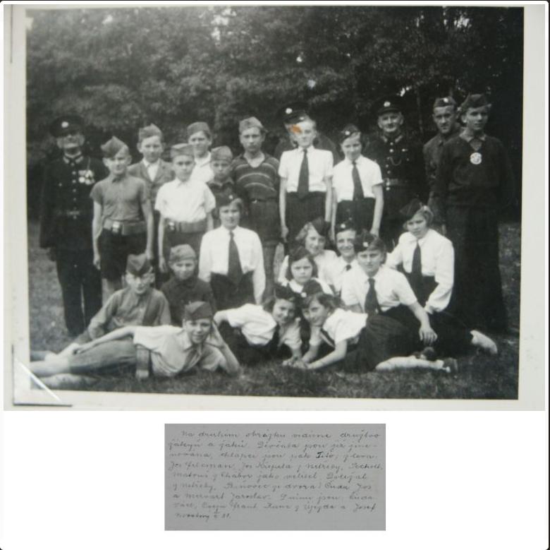Historie SDH a JSDH - fotografie hasiček