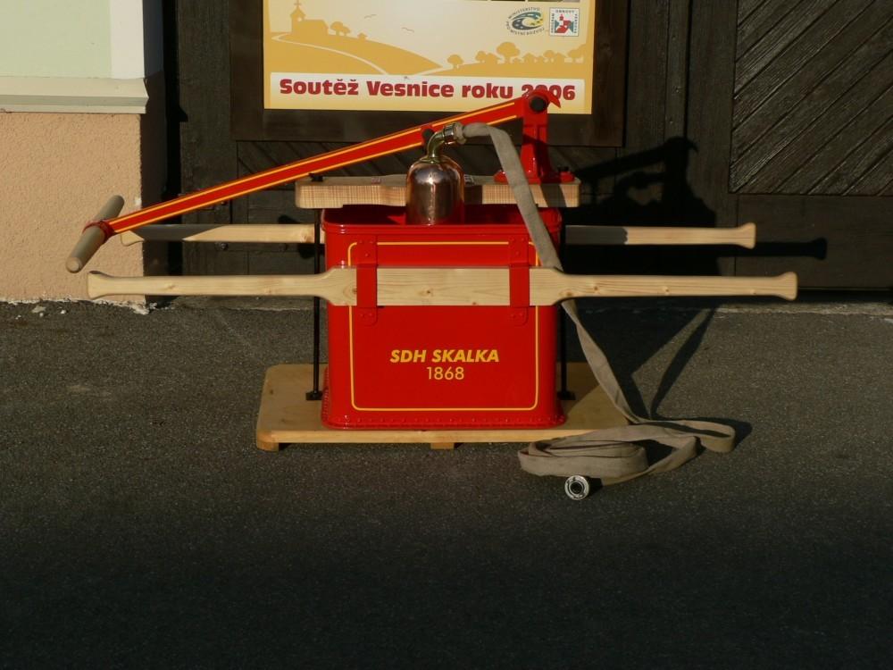 Technika - fotografie hasičského vybavení