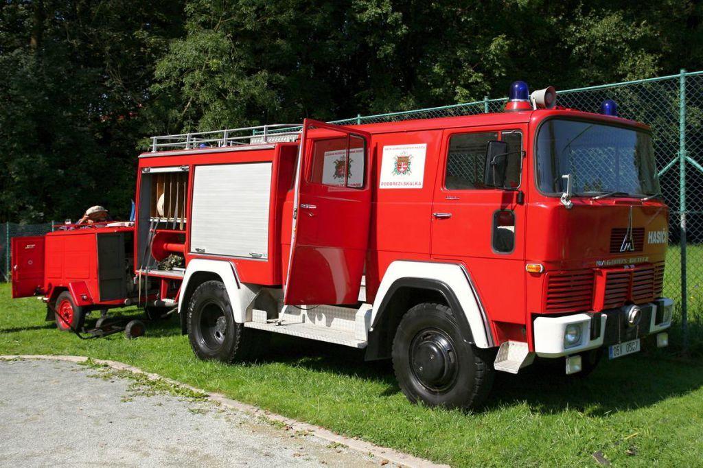 Technika - fotografie hasičského auta