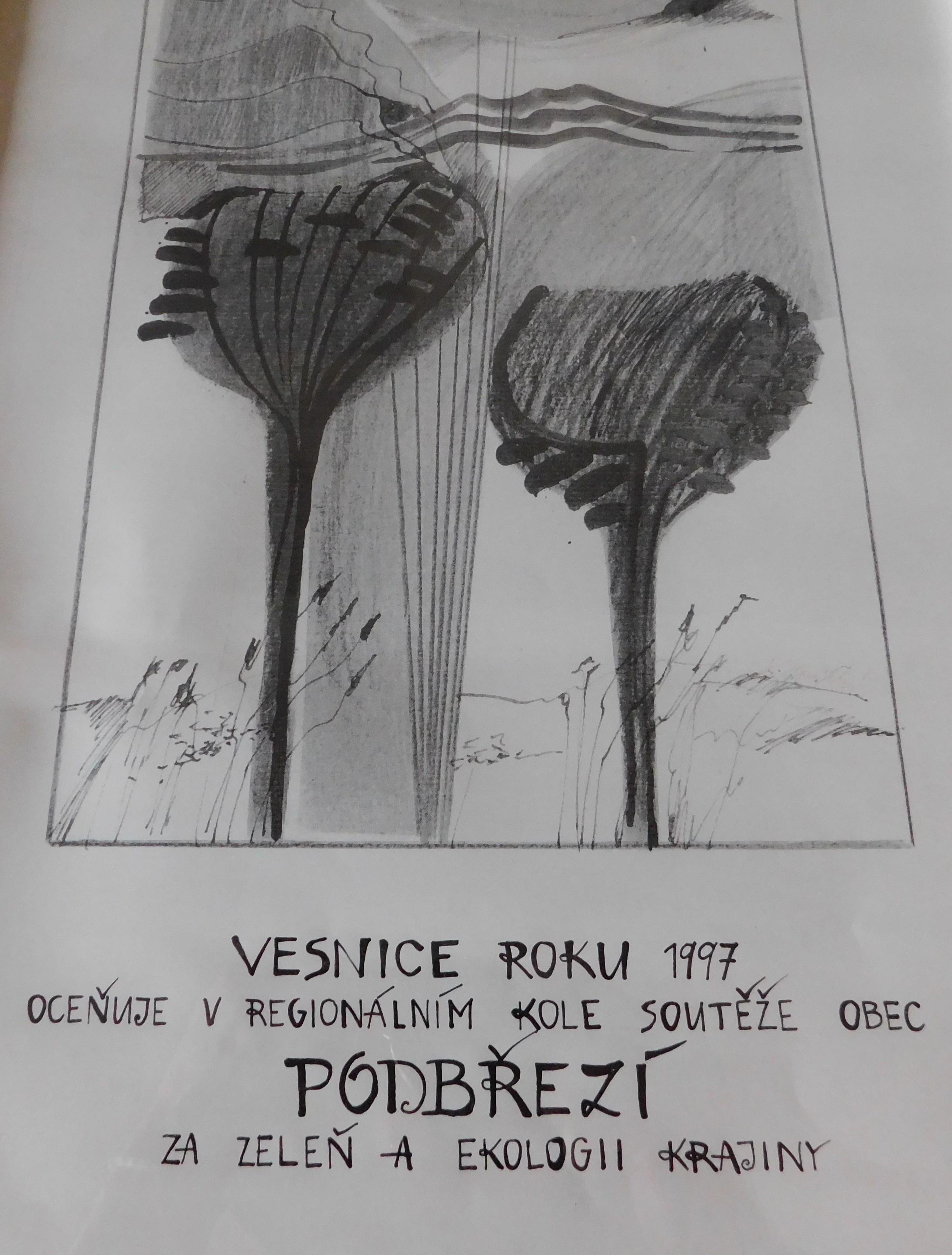 Diplom - Vesnice roku 1997